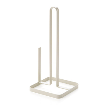 Wrought Iron Vertical Roll holder kitchen with paper rack