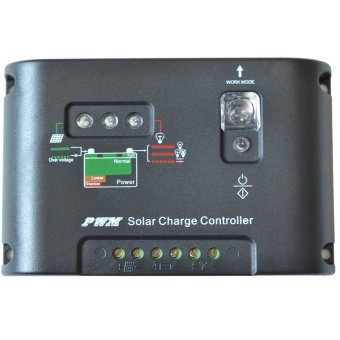 Y-SOLAR 20A Solar Panel Battery Charge Controller 12V 24V WithTimer For home System Led Lighting 20I-EC