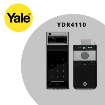 Yale YDR 4110 Biometric Fingerprint Digital Door Lock (Rim Lock)