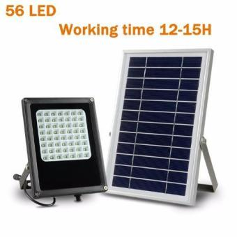 Y&H N500G 56 LEDs Solar Flood Light Outdoor Waterproof Street Lights Emergency Security High Integrated Spot Light Lamp White - intl