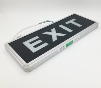Yeelite LED Exit Signage (Glass) Double Side Set of 2