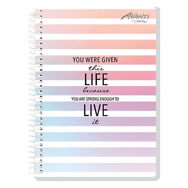 Image of Avanti Endless Hue Premium Spiral Notebook Set of 8