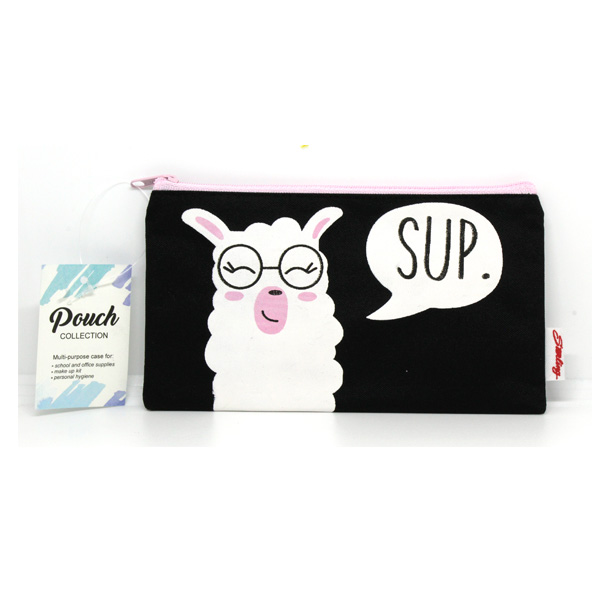 Image of Sterling Llama Sup Small Fabric Pouches