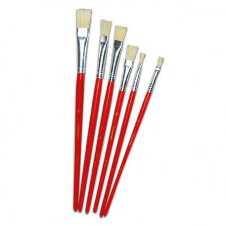 Image of Sterling Arts Water Color Flat Brushes Size 10