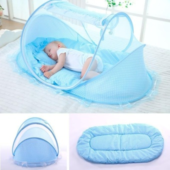 1 set Folding Baby Mosquito Net Tent + Pillow + Cotton Pad Mattress + Music Bag  sc 1 st  Philippines Price Comparison & Buy 1 Set Folding Baby Mosquito Net Tent Pillow Cotton Pad ...
