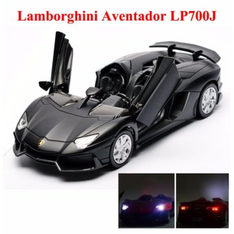 1:32 Scale Diecast Metal Alloy Lamborghini Aventador LP700J Toy Car With Light & Sound - intl