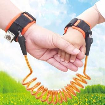 1.5m Adjustable Kids Safety Anti-lost Wrist Link Band ChildrenBracelet Wristband Baby Toddler Harness Leash Strap