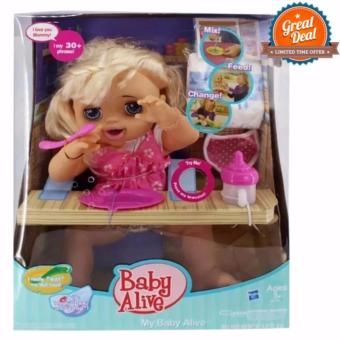 2017 Baby Alive talking doll feed, poop and change diaper Price Philippines