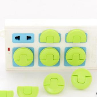 24PCS Protector Thick Electricty Plug In The Socket Baby Safe Lock Outlet Plug Cover for Kids Safety Proof Electric Shock Guard - intl