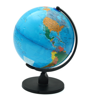25cm Rotating World Earth Globe Atlas Map Geography Education Toy Desktop Decor - intl