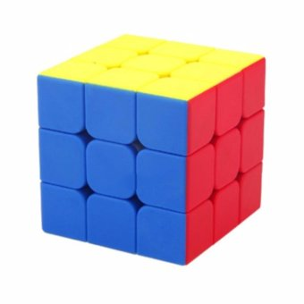 3x3 rubik's cube smooth (multicolor)