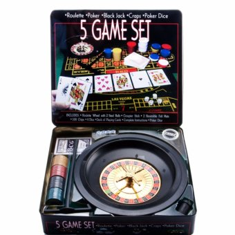 5 Game Set Poker chips (BQ-005)