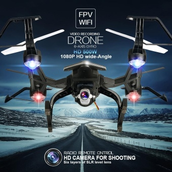 668-R8 RC 2.4G 4CH 6-Axis Gyro Wifi FPV DRONE 5.0MP 1080P CameraBlack - intl Price Philippines