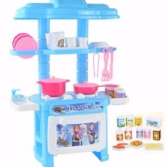 Mini Children S Kitchen Pretend Play Cooking Set Cabinet Stove Toy