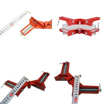 90 Degree Right Angle Clip Picture Frame Corner Clamp Hand Tool Kit- intl