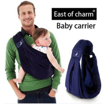 Baba Sling Baby Carrier High Quality Organic Cotton Baby BackpackCarrier Anti-skidding Sponge Baby Suspenders - intl Price Philippines