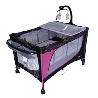Baby 1st Crib Playpen P-510DCR, (PURPLE)