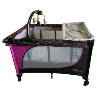 Baby 1st playpen P510DCR (TOBBY.CO 2016 (purple)