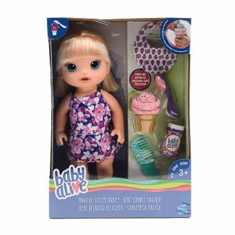 Baby Alive Magical Scoops Blonde Hair Doll