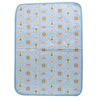 Baby Bed Mattress Waterproof Baby Nappy Change Sheet Protector(animals blue)