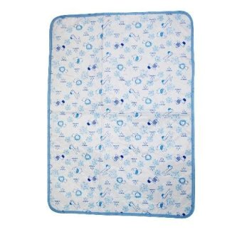 Baby Bed Mattress Waterproof Baby Nappy Change Sheet Protector(lion and elepant)