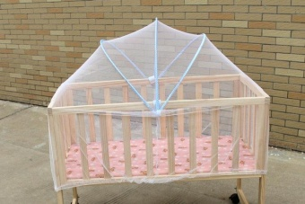 Baby Bed Mosquito Nets Cradle Bed Baby Bed Universal ArchedMosquito Nets - intl