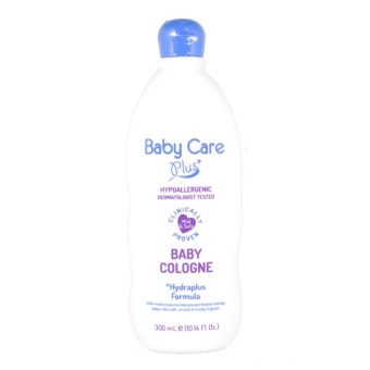 Baby Care Plus Baby Cologne 300mL with Hydraplus Formula