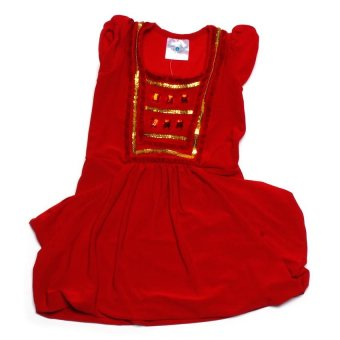 Baby Fashionista Stones and Sequins Dress (Red)