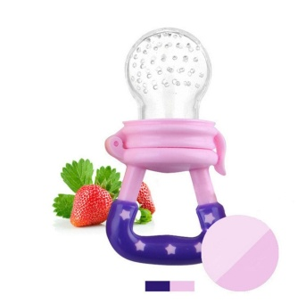 Baby Fresh Fruit And Vegetable Feeder Soothe Molar Teeth withAdvanced Soft Natural BPA Free Tree Teethers Gift Set Make YourHappy Baby Smile Now Silicone Teat Pink M - intl