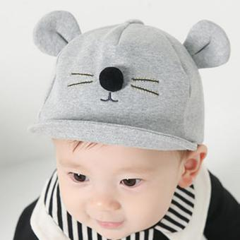 Baby Girls Boys Kids Lovely Cat Hats Newborn Cotton Caps - intl Price Philippines