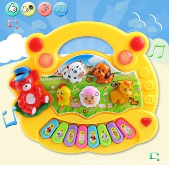 Baby Kids Musical Educational Piano Animal Farm Developmental Music Toys for Children Gift - intl