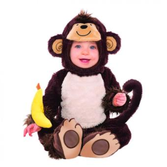 Baby Monkey Costume (1 - 3 Years Old)