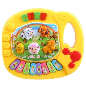 Baby Musical Educational Animal Farm Piano Toy (Color Random)