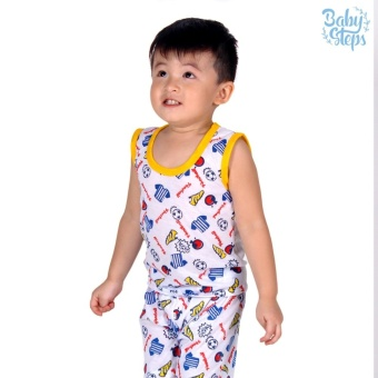 Baby Steps Basic Wear Football Baby Boy Terno Clothing Sets(Yellow) Price in Philippines