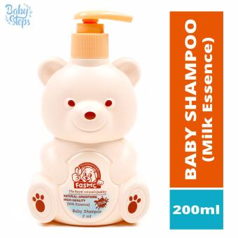 Baby Steps FASMC Baby Shampoo 2 in 1 Milk Essence 200ml