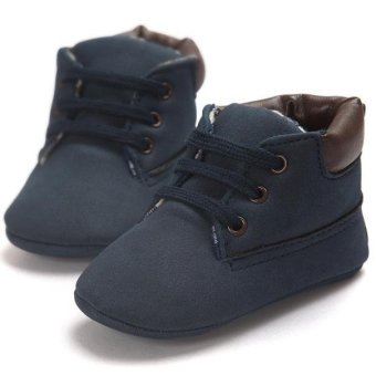 Baby Toddler Soft Sole Leather Shoes Infant Boy Girl Toddler Shoes- intl