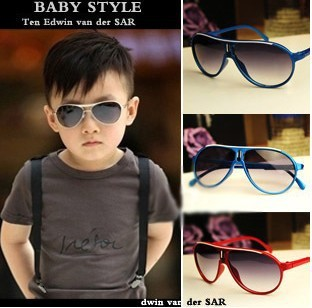 Baobao boy's girls sunglasses children's glasses