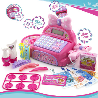 Baobao children's supermarket Toy Model cash register Machine