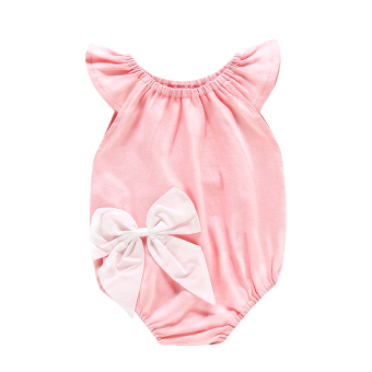 Baobao cotton thin baby romper onesie