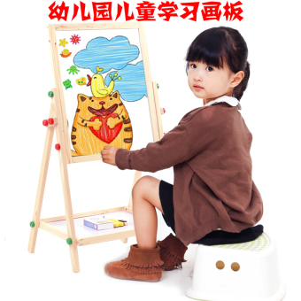 Baobao Learning Support-painted sketchpad children's easel