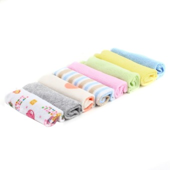 Bath Towel for Infant Set of 8 (Multicolor)