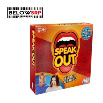 Below SRP Speak Out Party Game