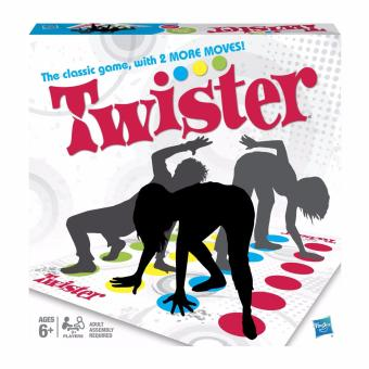Below SRP Twister Party Game