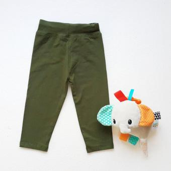 BigBox Baby Unisex Leggings (Plain Army Green) Price Philippines