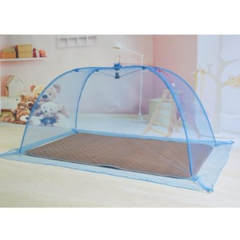 Blue Plain Mosquito Net for Baby