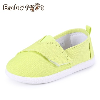Boy's Spring and Autumn New style Baobao toddler shoes children canvas shoes