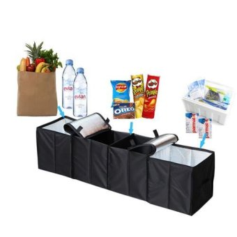 Car Trunk Organizer Foldable Bag - intl