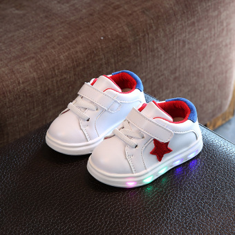 Casual soft bottom breathable children's shoes Baobao toddler shoes