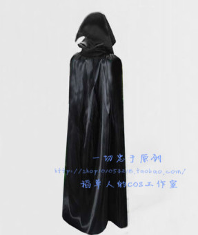 COS black gown dance extra-large Cape cloak
