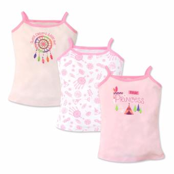 Cotton Stuff - 3-piece Strappy Top (Little Princess) 6-9 Months